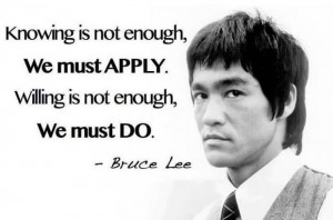 Business Intelligence the Bruce Lee way